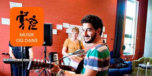 Musik på Brandbjerg Højskole