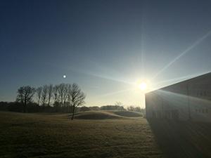 Solen skinner igen på Brandbjerg Højskole